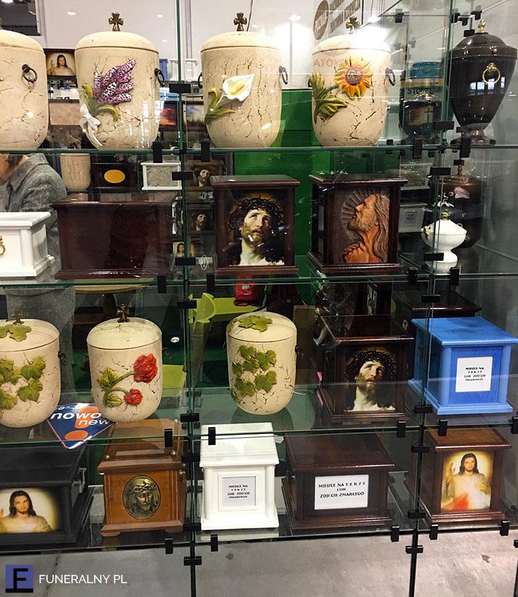 Urny personalizowane - targi memento