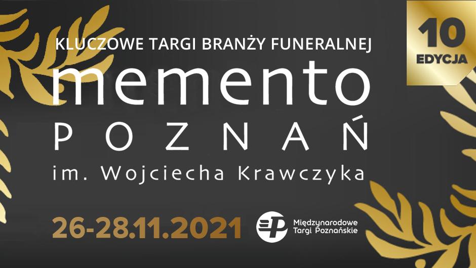 targi pogrzebowe memento poznań 2021