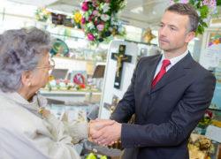 pozytywne opinie dla zakładu pogrzebowego